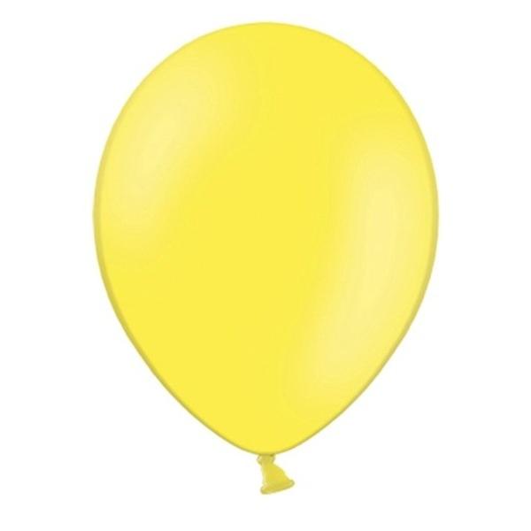 Balonek Nafukovaci 29cm Zluty 1ks Svatebnivyzdoba Cz