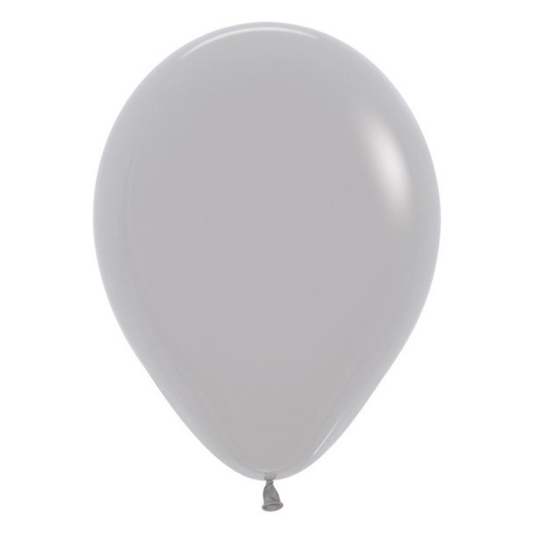 Balonky Sempertex Pastelove Sede 30cm 50ks Svatebnivyzdoba Cz